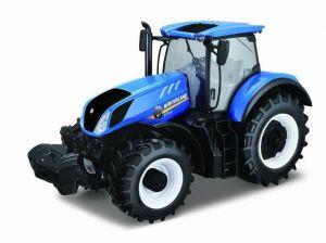 Bburago 1:32  Traktor New Holland Farm  T7.315  - modrý