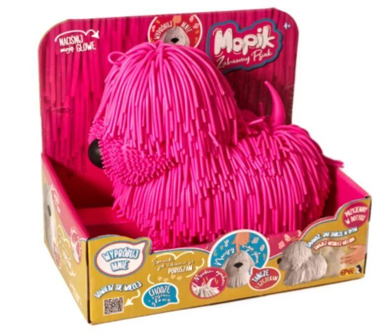 Interaktivní pejsek - Mopík - růžový Epee a EP Line
