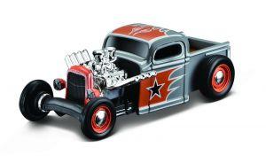 Maisto 1:64 15494 Design - Chevy Pickup 1936  - stříbrná  barva