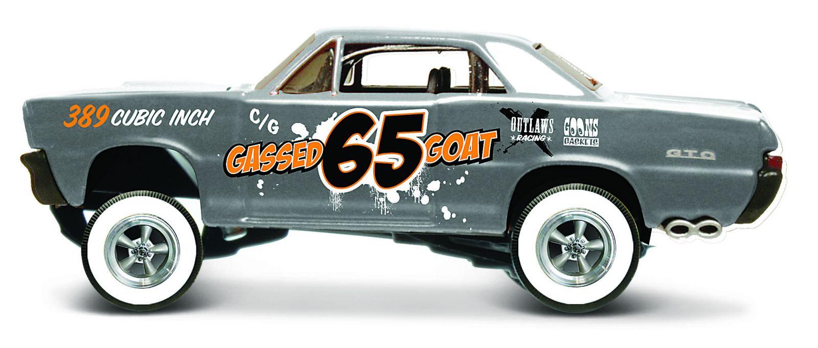 Maisto 1:64 15494 Design - Pontiac GTO 1965 - šedá barva