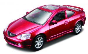 Maisto 21001 PR  Acura RSX Type S 2002  - červená barva