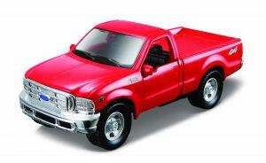 Maisto 21001 PR  Ford F-350 Pickup - červená  barva