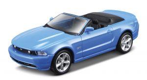Maisto 21001 PR  Ford Mustang GT 2010 cabrio - modrá  barva