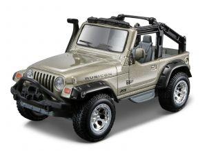 Maisto 21001 PR  Jeep Wrangler Rubicon - khaki barva