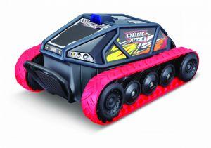 Maisto RC - Cyklone Attack -  tank - černo-červený 27 MHz