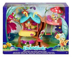 Mattel Enchantimals - Brouček a motýlí dům