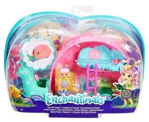 Mattel Enchantimals - Brouček a šnekomobil