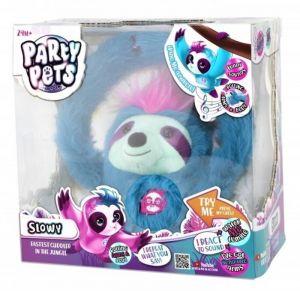 Party Pets interaktivní Lenochod Slowy tyrkysový TM Toys