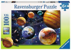 puzzle Ravensburger 100 dílků XXL - Sluneční soustava  09043