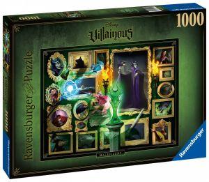 puzzle Ravensburger 1000 dílků -  Sněhurka - ničemné charaktery  150250