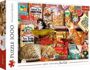 Puzzle Trefl  1000 dílků  - Kočičí sladkosti  10630