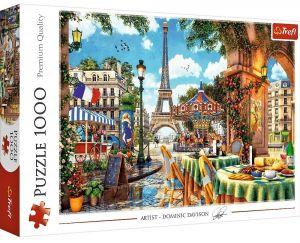 Puzzle Trefl  1000 dílků  - Pařížské ráno  10622