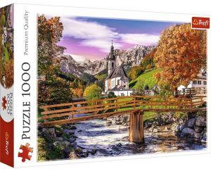 Puzzle Trefl  1000 dílků  - Podzimní Bavorsko 10623