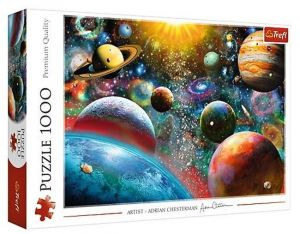 Puzzle Trefl  1000 dílků  - Sluneční soustava  10624