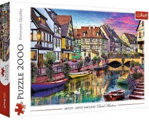 Puzzle Trefl 2000 dílků - Colmar - Francie  27118