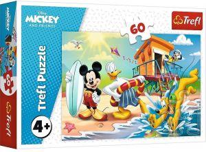 Puzzle  Trefl  - 60 dílků  - Mickey Mouse  17359
