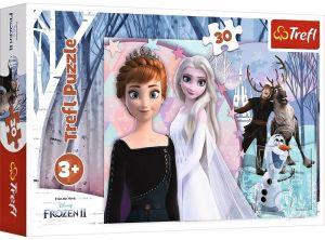 Trefl puzzle  30 dílků  - Frozen 2 - Ledové království    18275