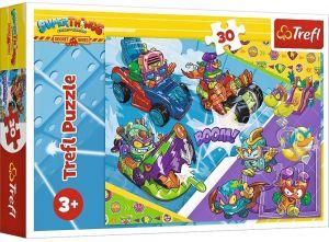 Trefl puzzle  30 dílků  - Super Zings 18273