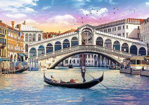 TREFL Puzzle  500 dílků -  Most Rialto - Benátky  37398