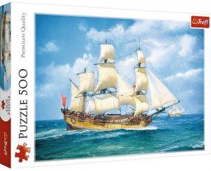 TREFL Puzzle  500 dílků -  Námořní plavba 37399