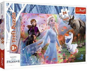 Trefl Puzzle Maxi 24 dílků - Frozen II  14322
