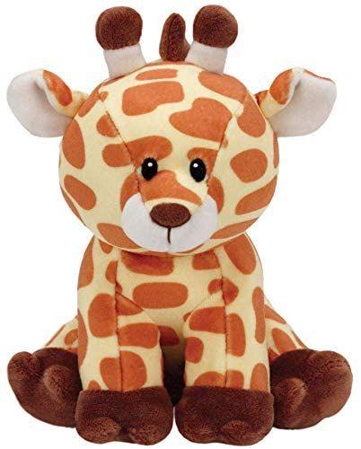 TY Beanie Baby - žirafa Gracie 82004 - 24 cm plyšák žluto-hnědá