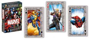 Winning Mowies  - hrací karty  - Marvel - hrdinové Avengers   55 karet