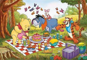 Deskové puzzle Clementoni - 15 dílků - Medvídek Pů - 22231a
