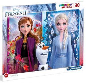 Deskové puzzle Clementoni - 30 dílků - Frozen 2 - 22702b
