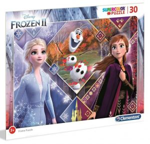Deskové puzzle Clementoni - 30 dílků - Frozen 2 - 22702c