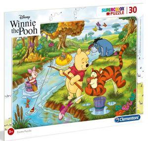Deskové puzzle Clementoni - 30 dílků - Medvídek Pů - 22704a