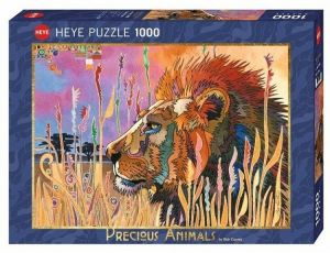 Heye - puzzle 1000 dílků - Král zvířat  29899
