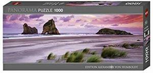 Heye - puzzle 1000 dílků panorama  VON Humboldt - Pláž Wharariki  29816