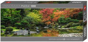 Heye - puzzle 1000 dílků panorama  VON Humboldt - Zen reflection 29859