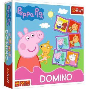 Hra  Trefl  -  Obrázkové domino  - Prasátko Peppa