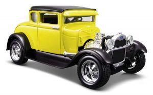 Maisto 1:24  1929  Ford  Model A  31201 - žlutá   barva