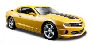 Maisto 1:24  2010 Chevrolet Camaro SS RS  31207 - žlutá  barva