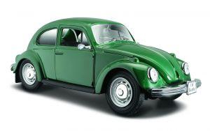 Maisto  1:24 Volkswagen Beetle   - zelená  barva