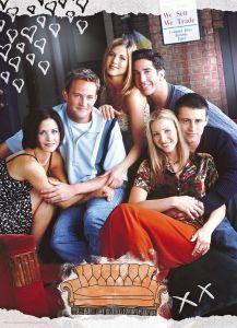 Puzzle Clementoni 1000 dílků - Friends - Přátelé 39587