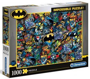 Puzzle Clementoni 1000 dílků - Nekoneční - Batman 39575