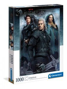 Puzzle Clementoni 1000 dílků -  Netflix - Zaklínač ( The Witcher ) 39592