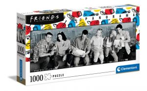 Puzzle Clementoni 1000 dílků panorama -  Friends Přátelé 39588