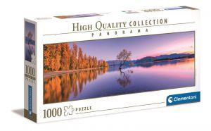 Puzzle Clementoni 1000 dílků  panorama - jezero Wanaka - Nový Zéland  39608