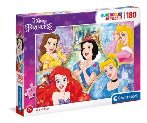Puzzle Clementoni 180 dílků  - Princezny 29311