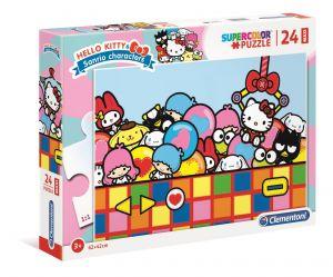 Puzzle Clementoni   24 dílků Maxi - Hello Kitty  24202