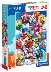 Puzzle Clementoni   24 dílků Maxi - Pixar party 24215