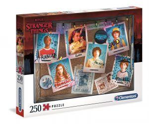 Puzzle Clementoni 250 dílků  - Netflix Stranger Things  29103