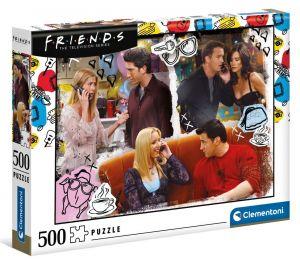 Puzzle Clementoni 500 dílků  - Fiends - Přátelé 35090
