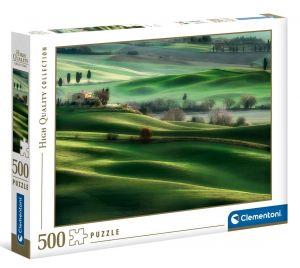Puzzle Clementoni 500 dílků  - Toskánsko 35098