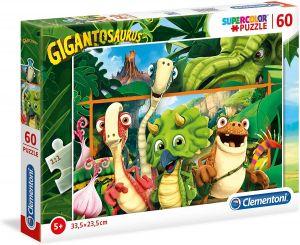 Puzzle Clementoni  60 dílků  Gigantosaurus  26996